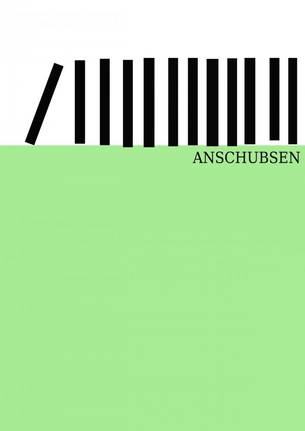Anschubsen! - © Grafik: Sophie Knoll