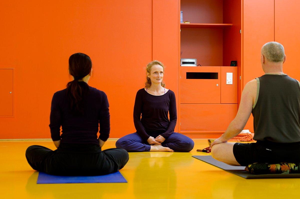 Yoga - © Stadt Nürnberg / Foto: Uwe Niklas