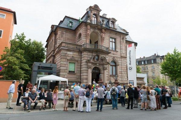Museumsfest - Fünf Jahre Kunstvilla - © Kunstvilla im KunstKulturQuartier, Annette Kradisch, Nürnberg