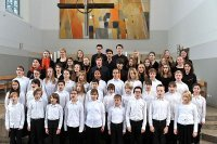 """Bild zu Songlines Vol. I: Eröffnungskonzert mit dem jungenChor nürnberg & Demenzchor """"Sing ein Lied...!"""""""