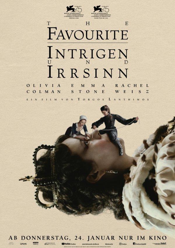 The Favourite – Intrigen und Irrsinn - © 2018 Twentieth Century Fox