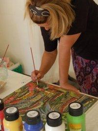 Bild zu Aktiv in Almoshof: Die Dienstagsmaler: offener Mal-Treff am Nachmittag