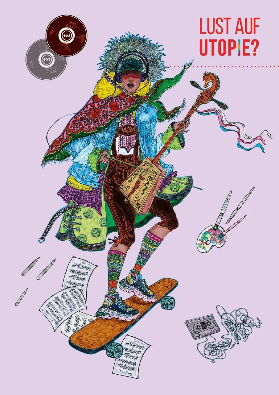"Das 2 ""Global Art Festival"" macht Lust auf Utopie - © Uwe Niklas"