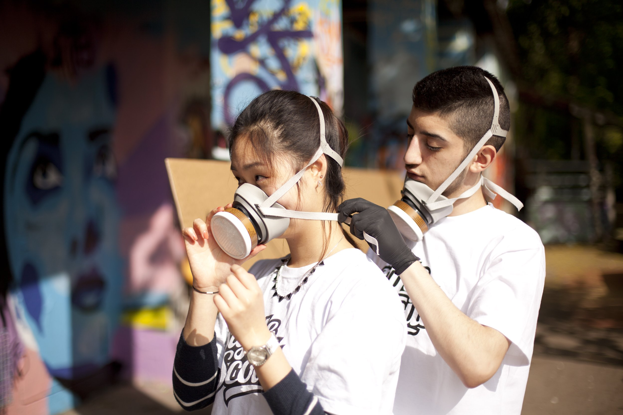 Urban [He]arts im Franken-Center: Graffiti-Workshop mit Style Scouts® - © Style Scouts®