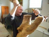 Bild zu Holzbildhauen II